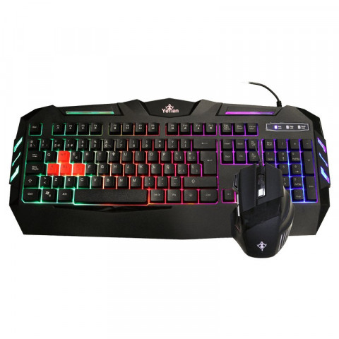 Yeyian Keyboard and Mouse Combo Phoenix - SKU: YC1000/PS1000