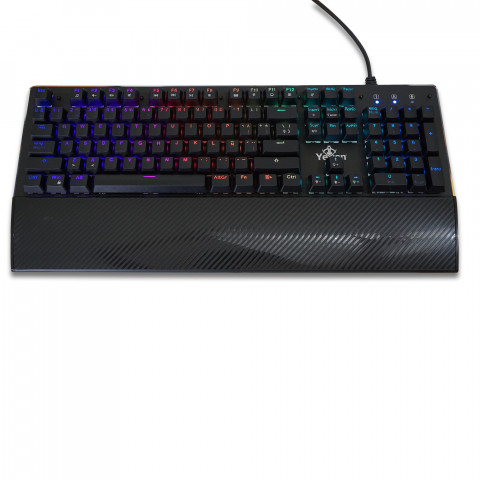 Yeyian Gaming Keyboard Flare, Series 2000, Blue Switch - SKU: YAT1801