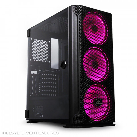 Yeyian Gaming PC Case Hollow Series 2500 Black-  SKU: YGH-49703